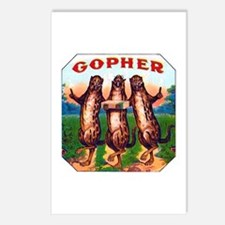 Gophers Cigar Label Postcards (Package of 8)