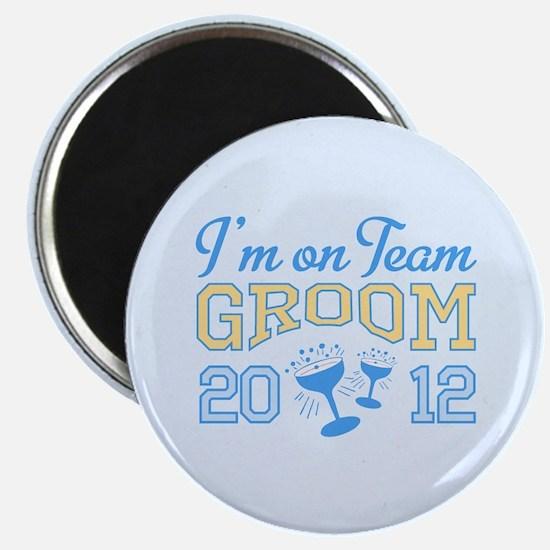 Groom Champagne 2012 Magnet