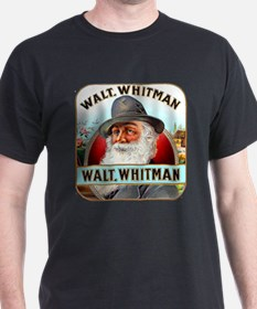 Walt Whitman Cigar Label T-Shirt