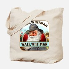 Walt Whitman Cigar Label Tote Bag