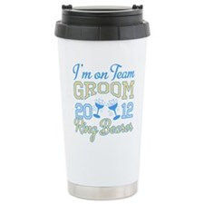 Ring Bearer Champagne 2012 Travel Mug