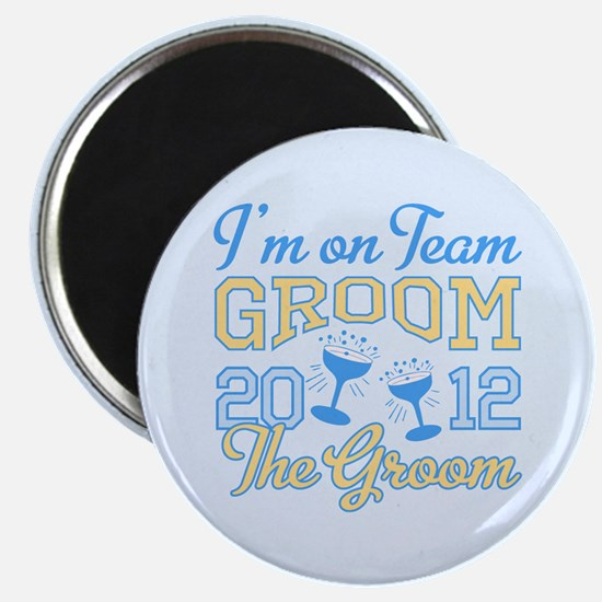 The Groom Champagne 2012 Magnet
