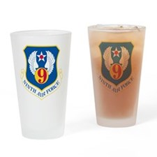 Unique Air force wall Drinking Glass
