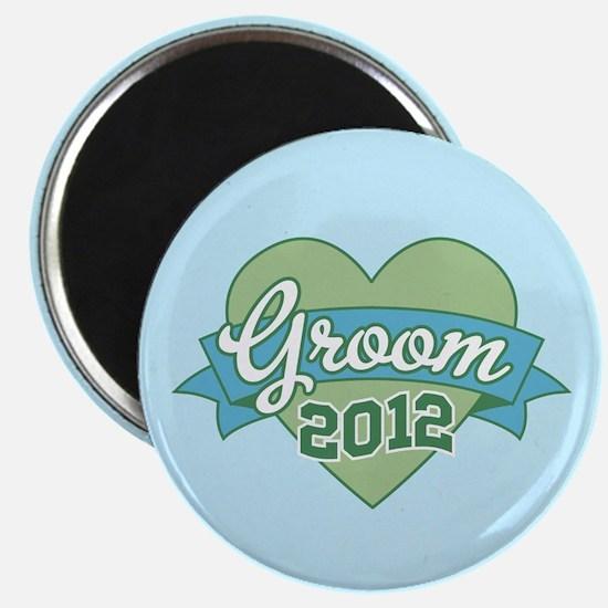 Groom Heart 2012 Magnet