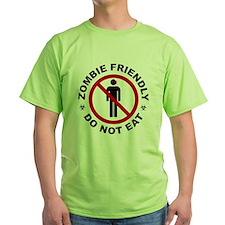 Zombie Friendly - Do Not Eat T-Shirt