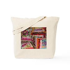 Unique Patchwork quilt Tote Bag
