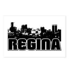 Regina Skyline Postcards (Package of 8)