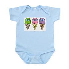 Triple Cones! Infant Creeper