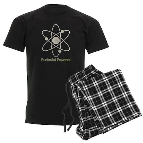 Eucharist Powered Men's Dark Pajamas