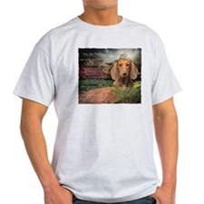 """Why God Made Dogs"" Dachshund T-Shirt"