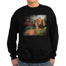 """Why God Made Dogs"" Dachshund Sweatshirt"