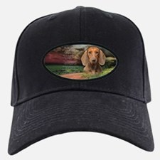 """Why God Made Dogs"" Dachshund Baseball Hat"