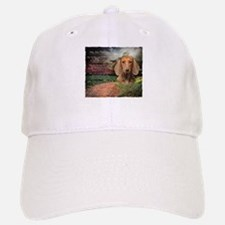 """Why God Made Dogs"" Dachshund Baseball Baseball Cap"