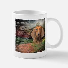 """Why God Made Dogs"" Dachshund Mug"