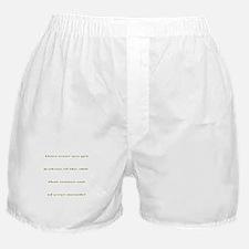 Jealous Boxer Shorts
