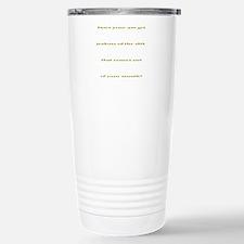 Jealous Stainless Steel Travel Mug