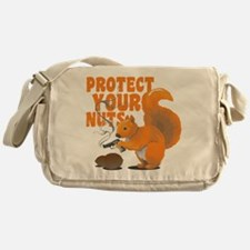 Protect Your Nuts Messenger Bag