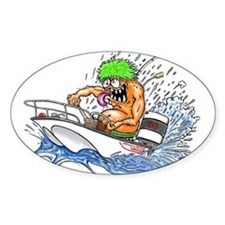 Whaler - Rat Fink Style Decal