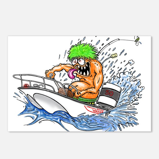 Whaler - Rat Fink Style Postcards (Package of 8)