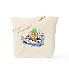Whaler - Rat Fink Style Tote Bag