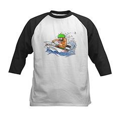 Whaler - Rat Fink Style Kids Baseball Jersey