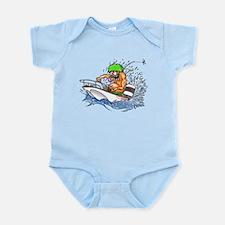 Whaler - Rat Fink Style Infant Bodysuit
