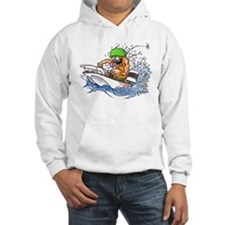 Whaler - Rat Fink Style Hoodie