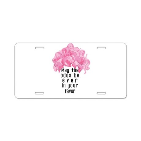 Bright and Bubbly as Ever! Aluminum License Plate