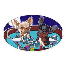 Chihuahua Hot Tub Decal