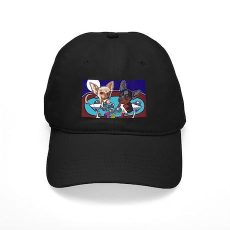 Chihuahua Hot Tub Black Cap