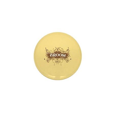 2012 Grunge Groom Mini Button (100 pack)