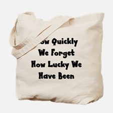 How Quickly We Forget How Luc Tote Bag