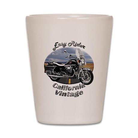 Moto Guzzi California Vintage Shot Glass