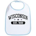 Wisconsin Est. 1848 Bib