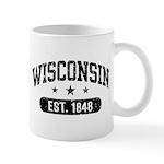 Wisconsin Est. 1848 Mug