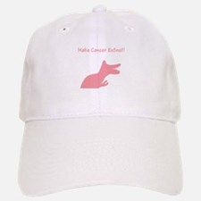Pink Dinosaur Make Cancer Extinct Baseball Baseball Cap