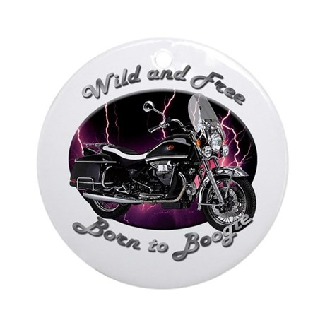 Moto Guzzi California Vintage Ornament (Round)