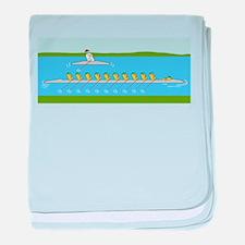 Boat-Racing baby blanket