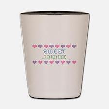 Sweet JANINE Shot Glass