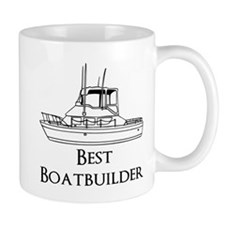 Best Boatbuilder Mug