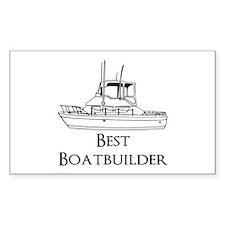 Best Boatbuilder Decal