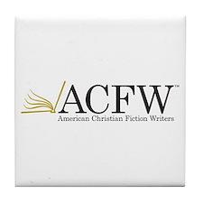 Cute Christian writers Tile Coaster