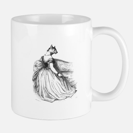Mademoiselle Wolf Mug