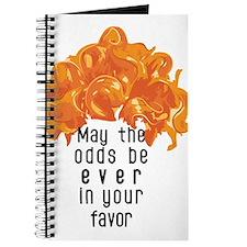 She's in a Pumpkin Orange Wig Journal