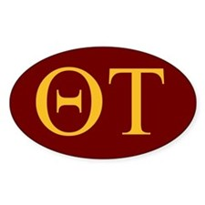 Colored Theta Tau Decal