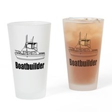 Boatbuilder Drinking Glass