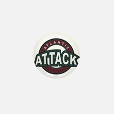 Atlantic Attack Mini Button