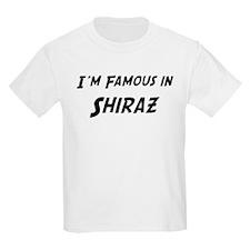 Famous in Shiraz Kids T-Shirt