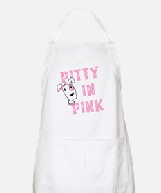 Pitty in Pink BBQ Apron
