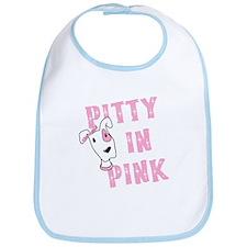 Pitty in Pink Bib